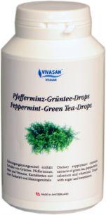 Зеленый чай с перечной мятой в таблетках